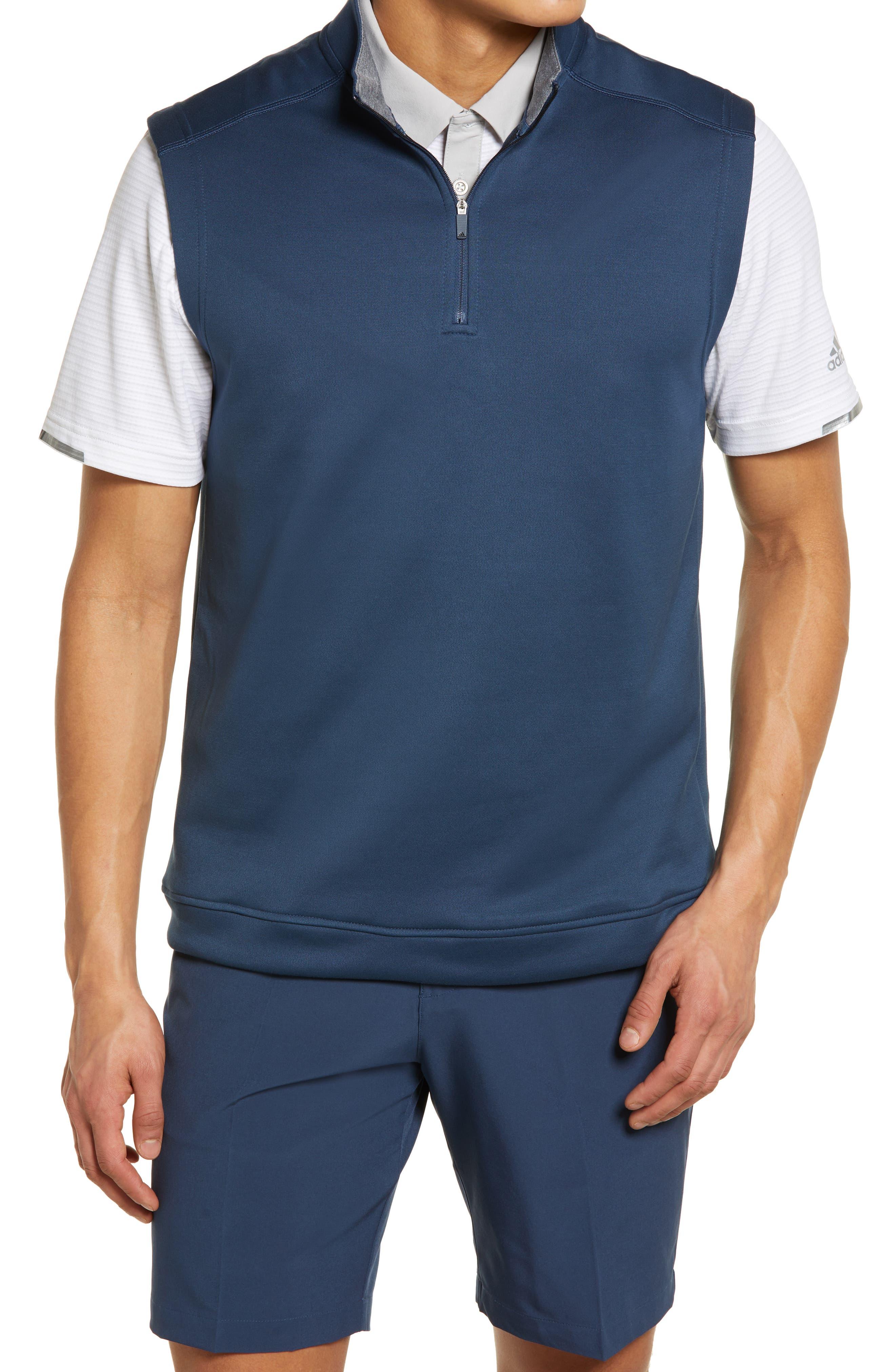 Club Quarter Zip Vest