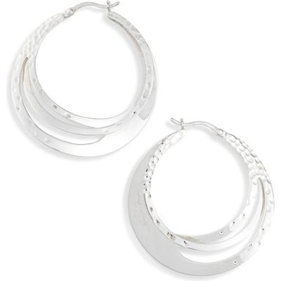 Karen London Sculpted Hoop Earrings