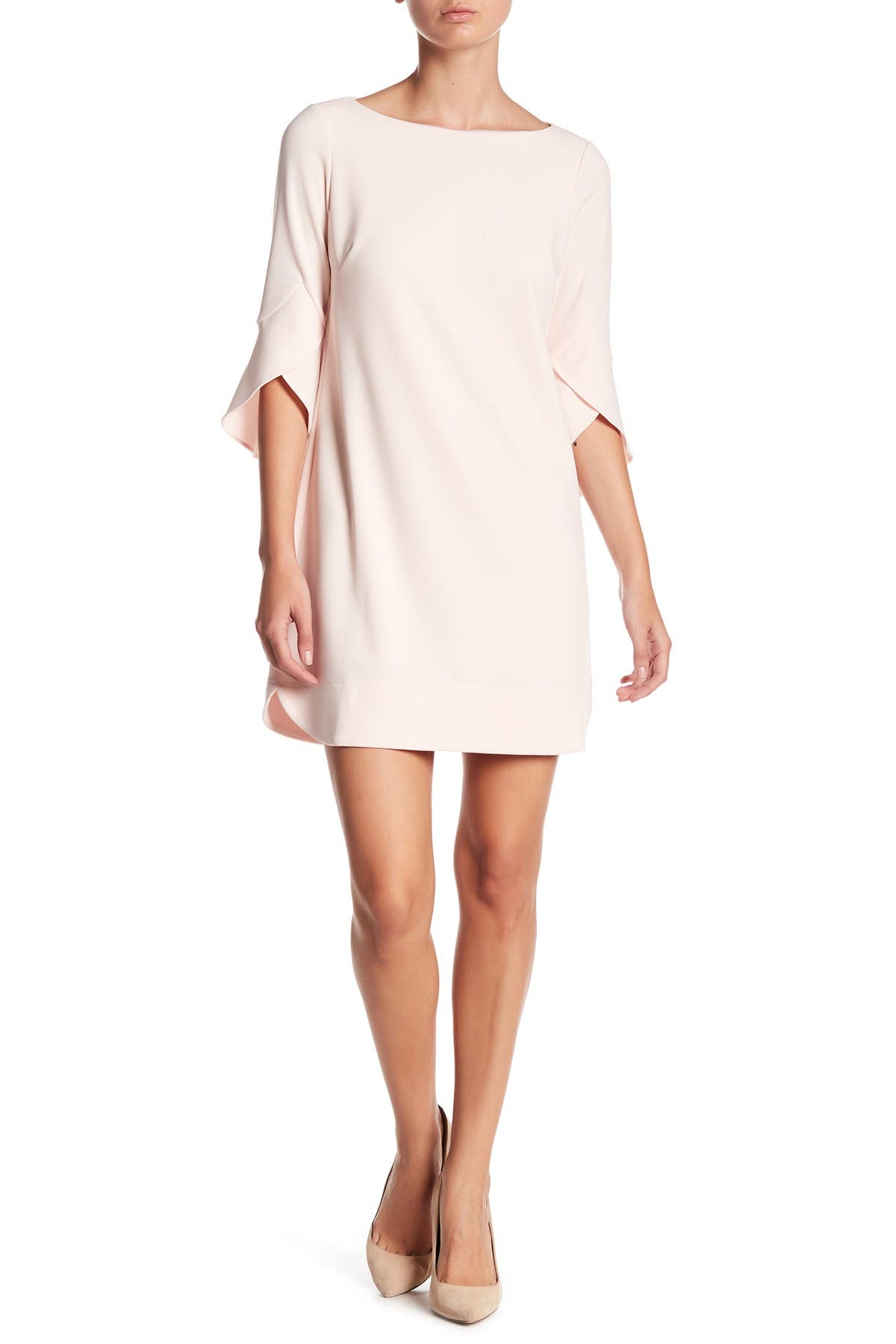 Image of Vince Camuto Tulip Bell Sleeve Dress