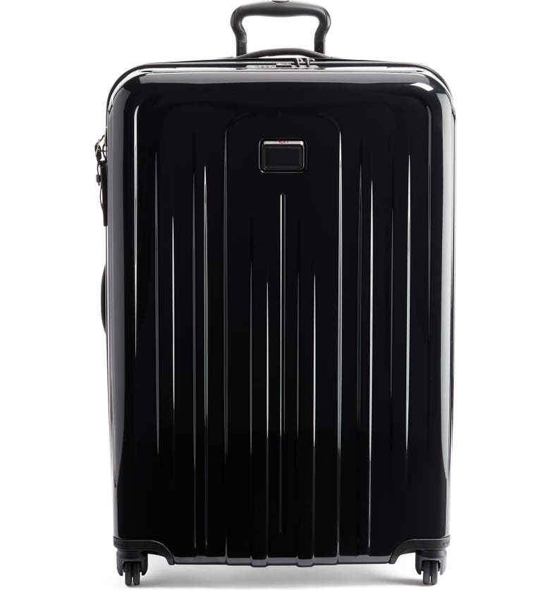 TUMI V4 Collection 31-Inch Extended Trip Expandable Spinner Packing Case, Main, color, BLACK