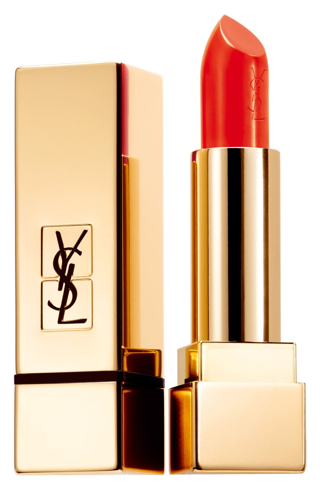 Yves Saint Laurent Rouge Pur Couture Satin Lipstick - 74 Orange Electro
