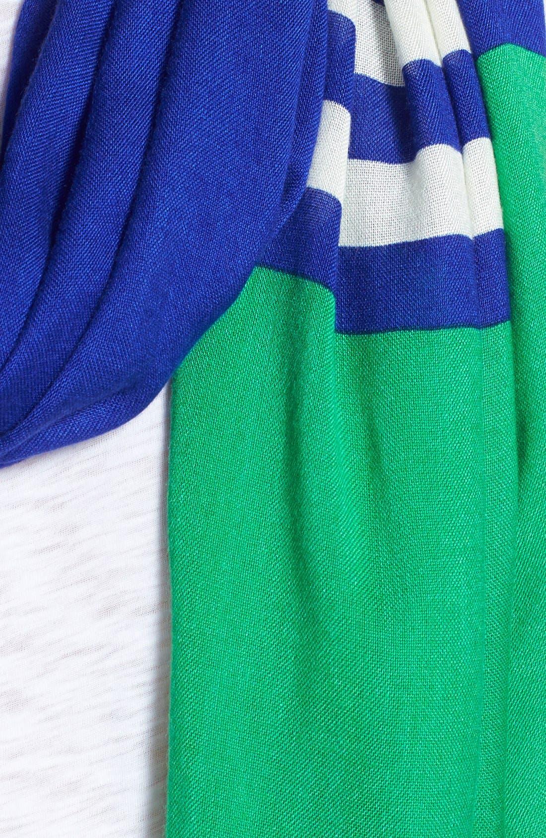 ,                             'six month stripe' scarf,                             Alternate thumbnail 4, color,                             400