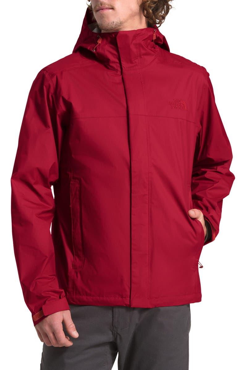 THE NORTH FACE Venture II Raincoat, Main, color, CARDINAL