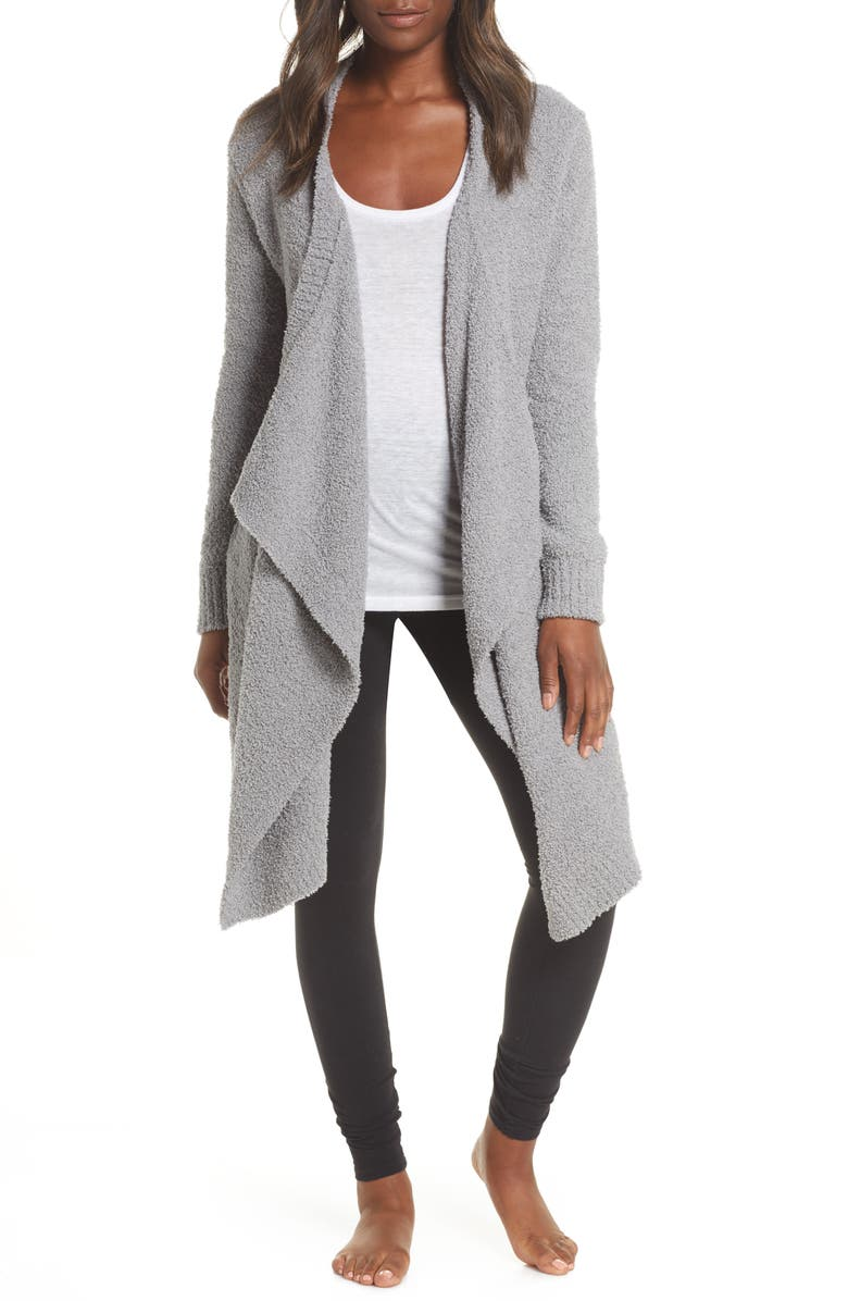 UGG<SUP>®</SUP> Phoebe Wrap Cardigan, Main, color, GREY