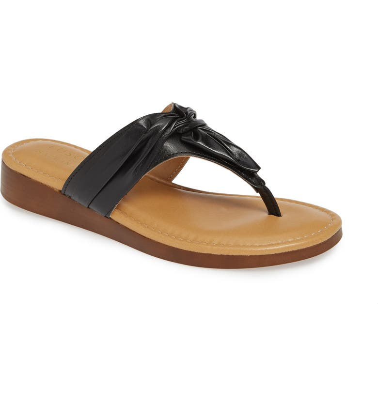 TUSCANY BY EASY STREET<SUP>®</SUP> Maren Flip Flop, Main, color, 001