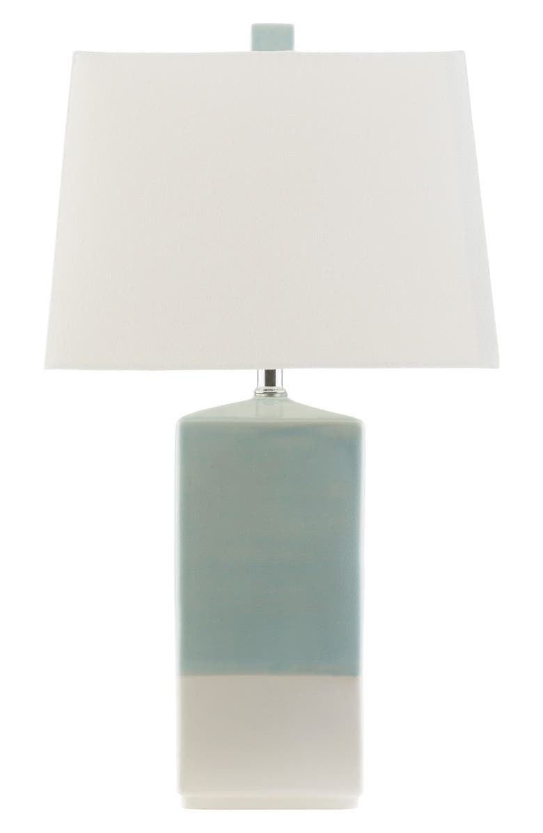 SURYA HOME Malloy Table Lamp, Main, color, BLUE