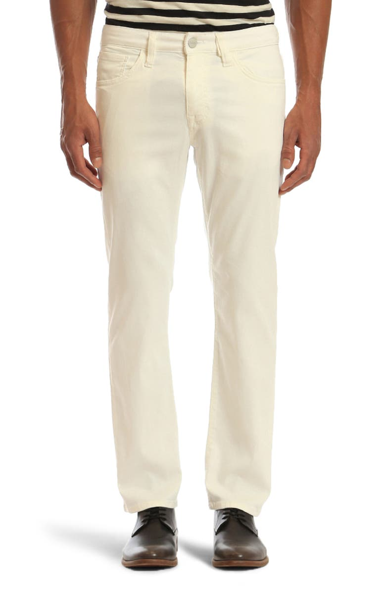 34 HERITAGE Courage Straight Leg Jeans, Main, color, NATURAL SOFT TOUCH