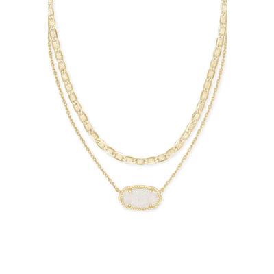 Kendra Scott Elisa Multistrand Pendant Necklace