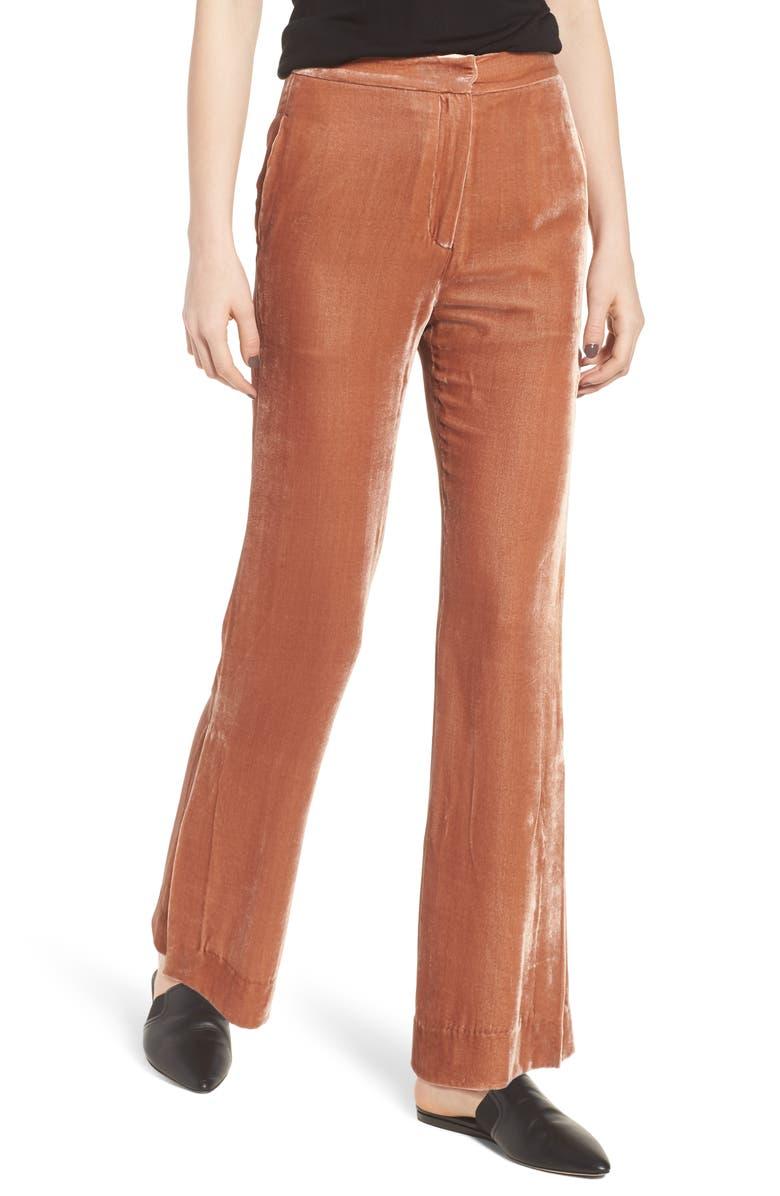 CAARA Bushwick Velvet Pants, Main, color, 200