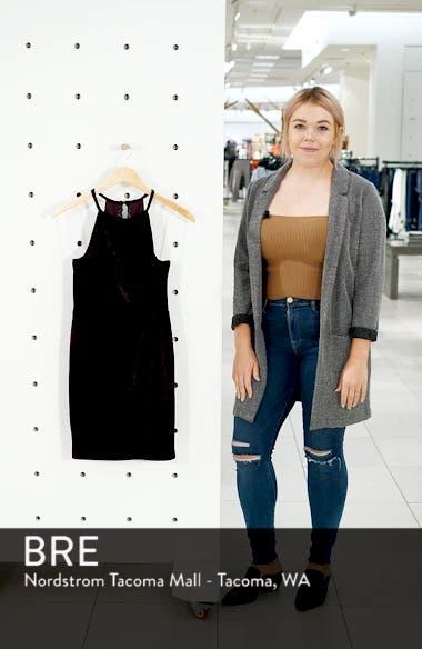Velvet Body-Con Minidress, sales video thumbnail