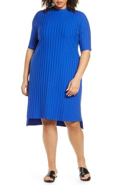 Eileen Fisher Downs STRIPE SHIFT DRESS