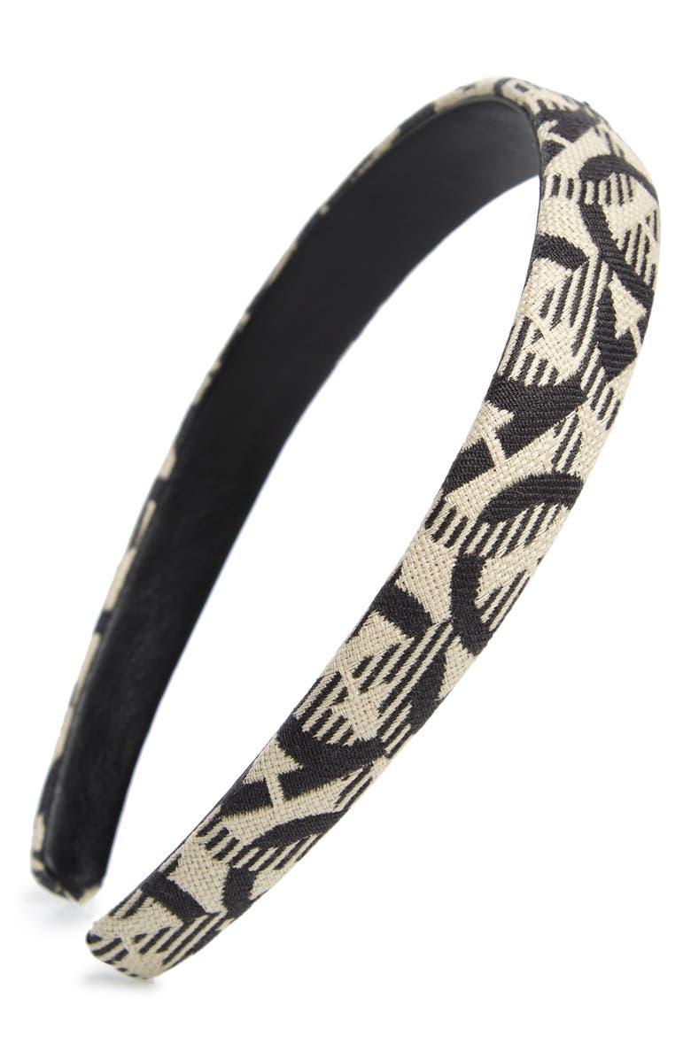 SALVATORE FERRAGAMO Gancini Headband, Main, color, 200
