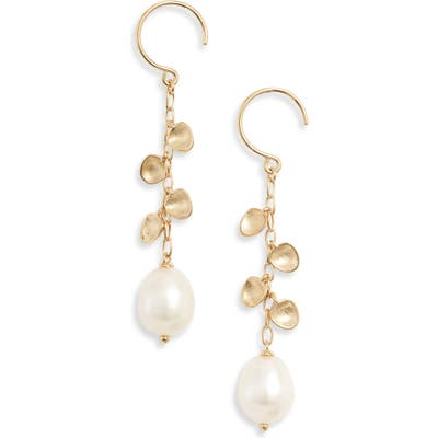 Nadri Venice Pearl Drop Earrings