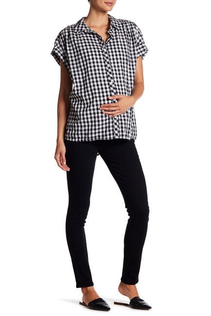 Image of PAIGE Verdugo Ultra Skinny Solid Jeans