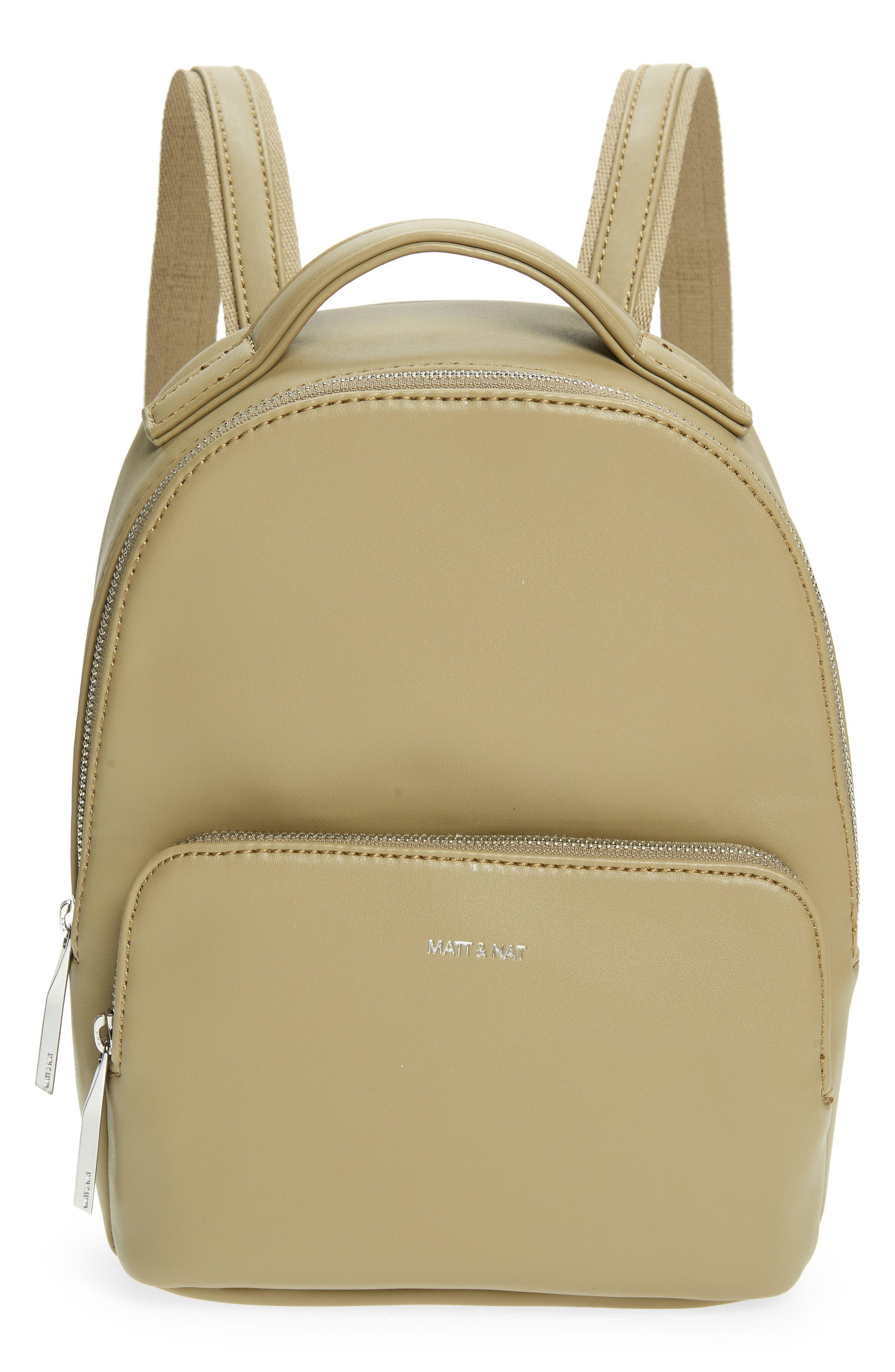 Carosm Vegan Leather Backpack
