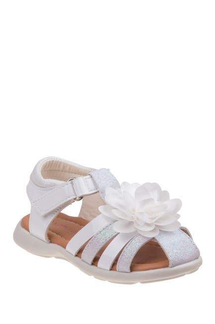 Image of Laura Ashley Flower Closed Toe Sandal