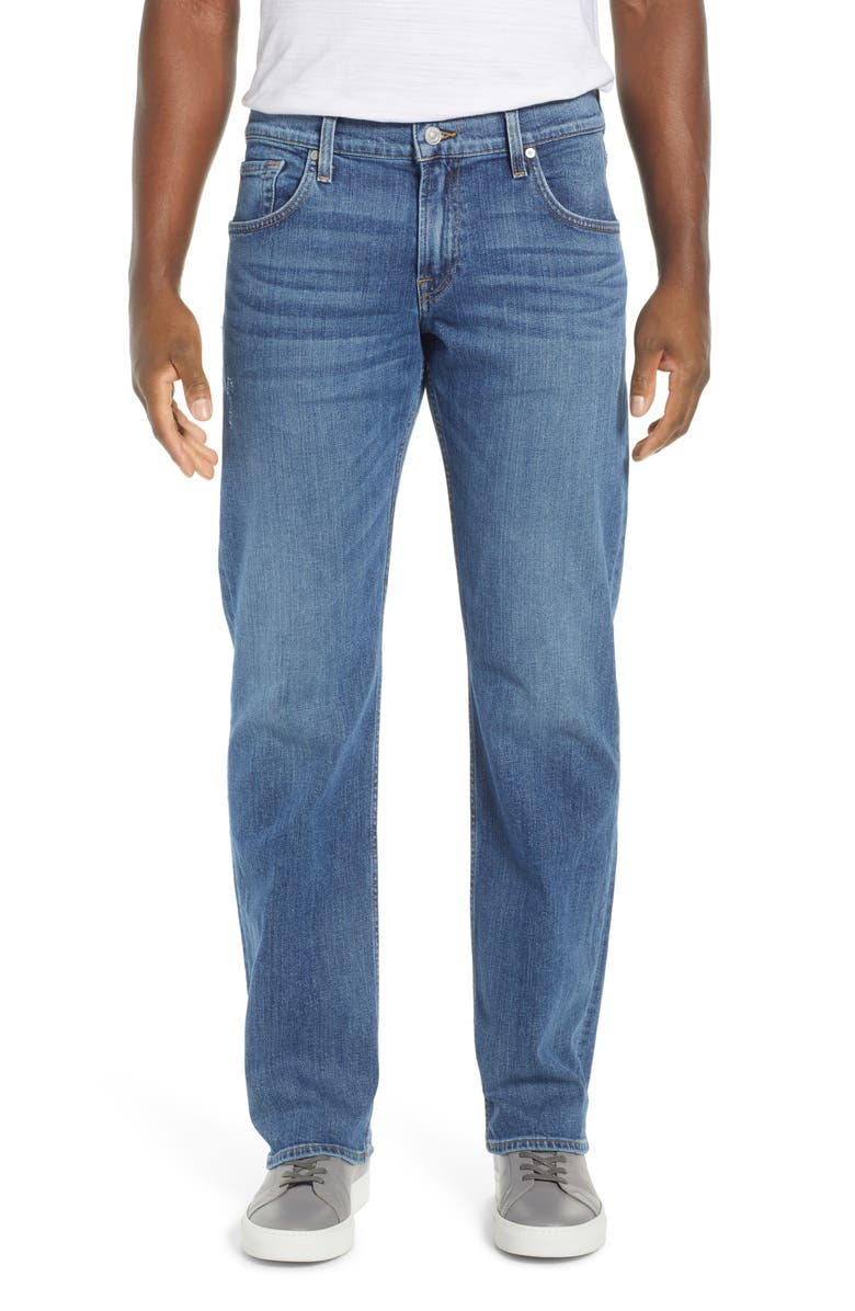 7 FOR ALL MANKIND<SUP>®</SUP> Austyn Relaxed Fit Jeans, Main, color, FRONTIER