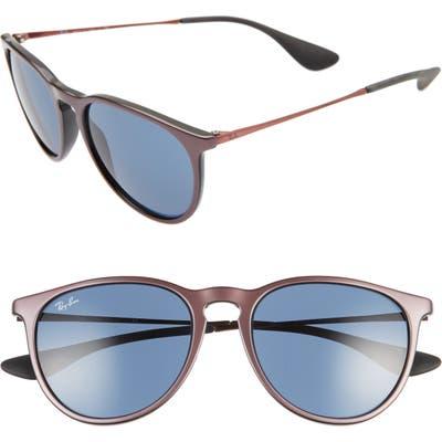Ray-Ban Erika Classic 5m Sunglasses - Dark Blue/ Dark Blue Solid
