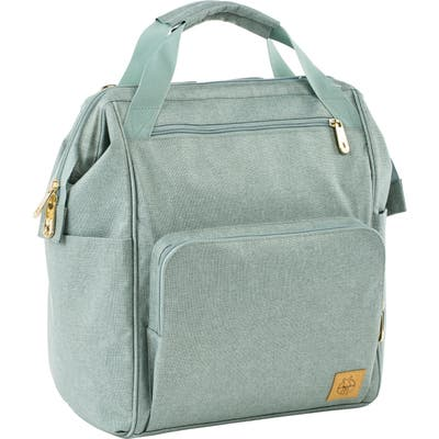 Infant Lassig Glam Goldie Diaper Backpack - Green