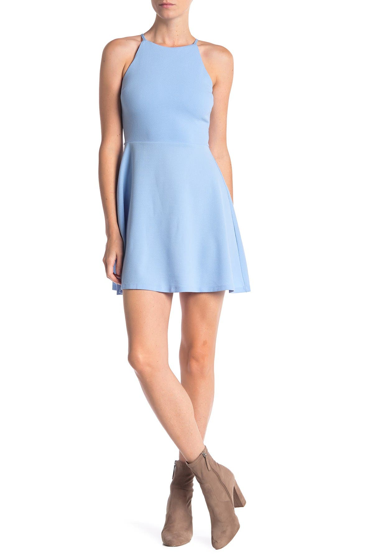 Image of Love...Ady Textured Skater Dress