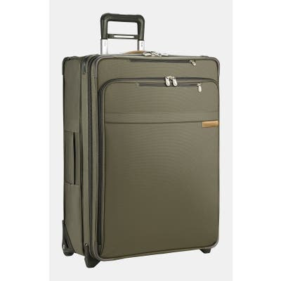 Briggs & Riley Large Baseline Expandable 28-Inch Rolling Packing Case - Green