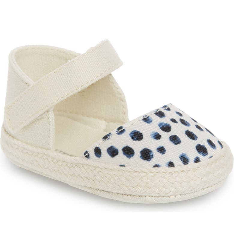 SOMETHING NAVY Mary Jane Espadrille Flat, Main, color, 100