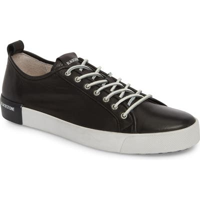 Blackstone Pm66 Low Top Sneaker, Black