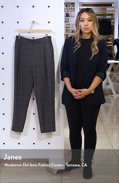 Anneka Plaid Ankle Trousers, sales video thumbnail