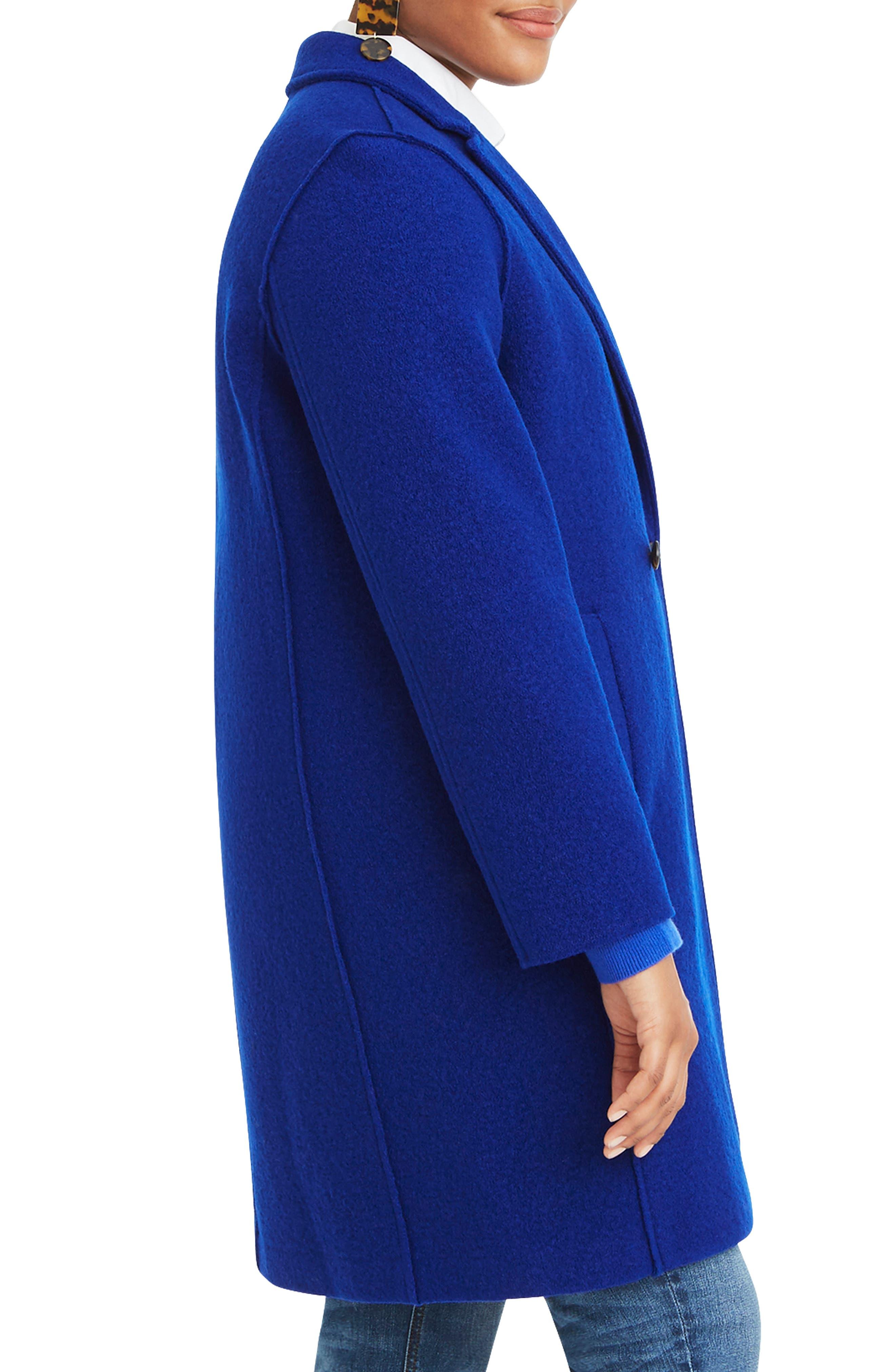 ,                             Daphne Boiled Wool Topcoat,                             Alternate thumbnail 44, color,                             400