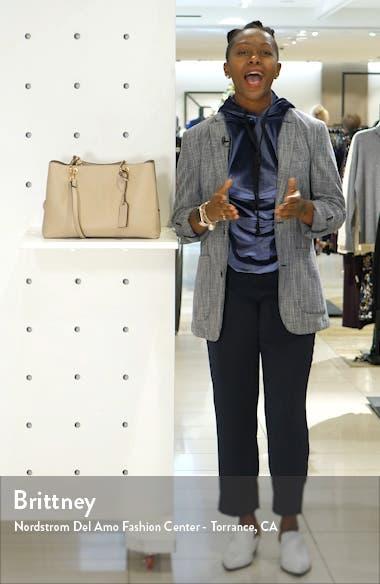Faux Leather Satchel, sales video thumbnail