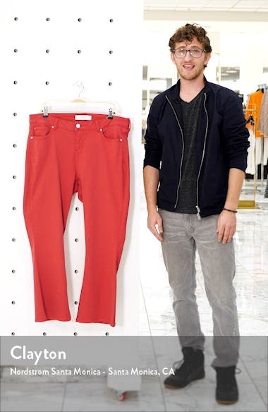 High Waist Ankle Bootcut Jeans, sales video thumbnail