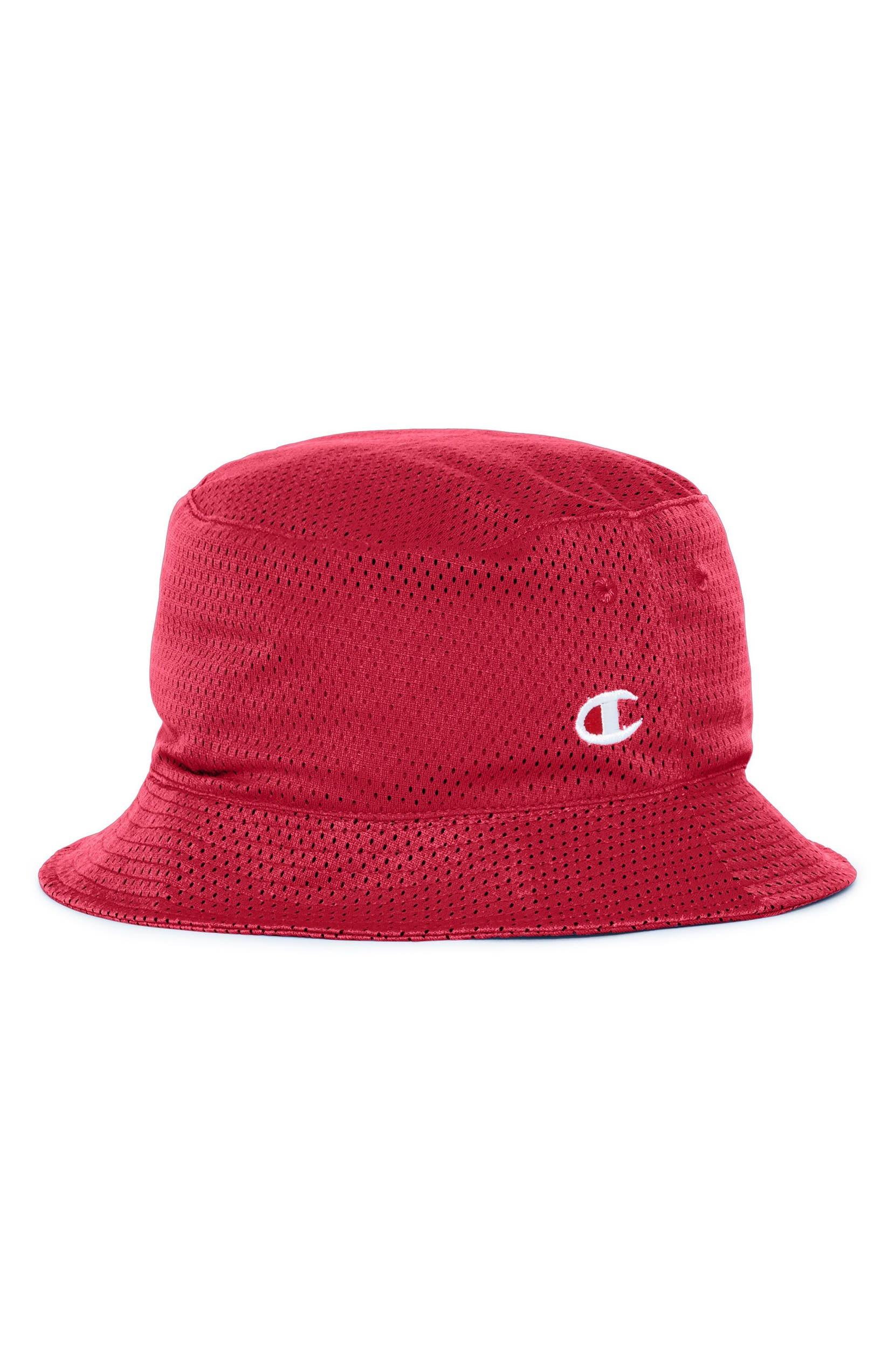 4a8839c2 Champion Reversible Mesh Bucket Hat | Nordstrom