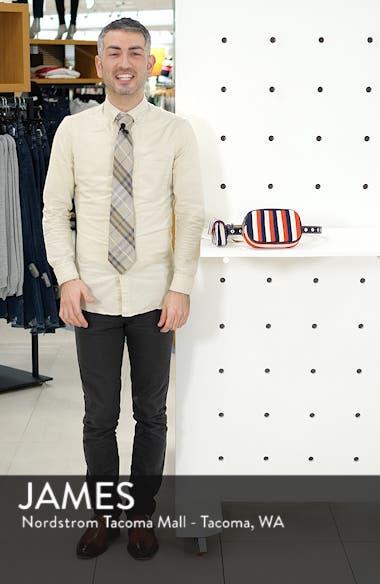 Nautical Stripe Double Belt Bag, sales video thumbnail