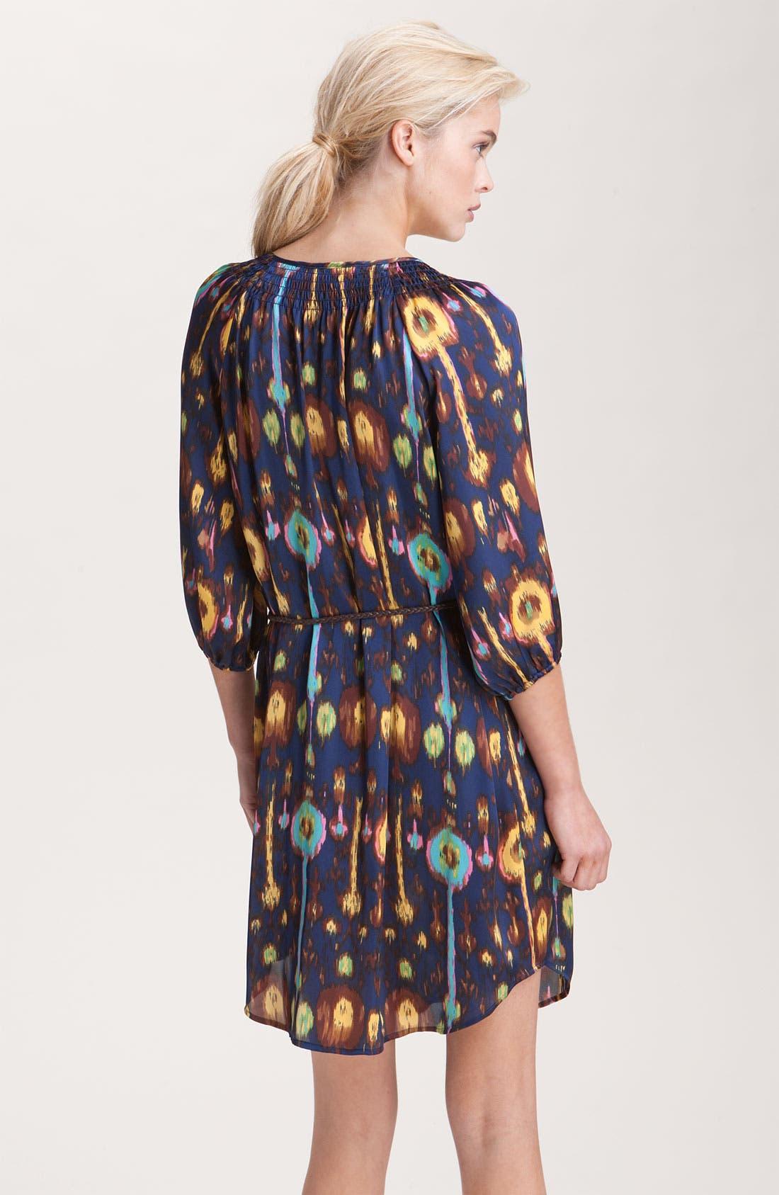 ,                             Print Shirtdress,                             Alternate thumbnail 2, color,                             418