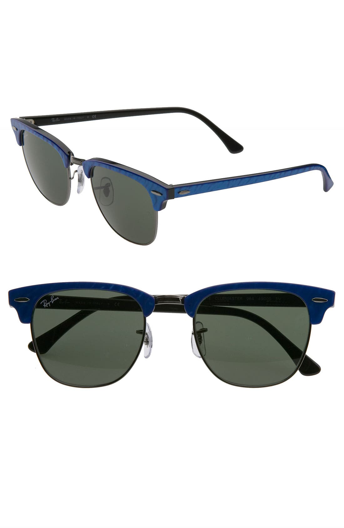 ,                             'Clubmaster' 49mm Sunglasses,                             Main thumbnail 6, color,                             400