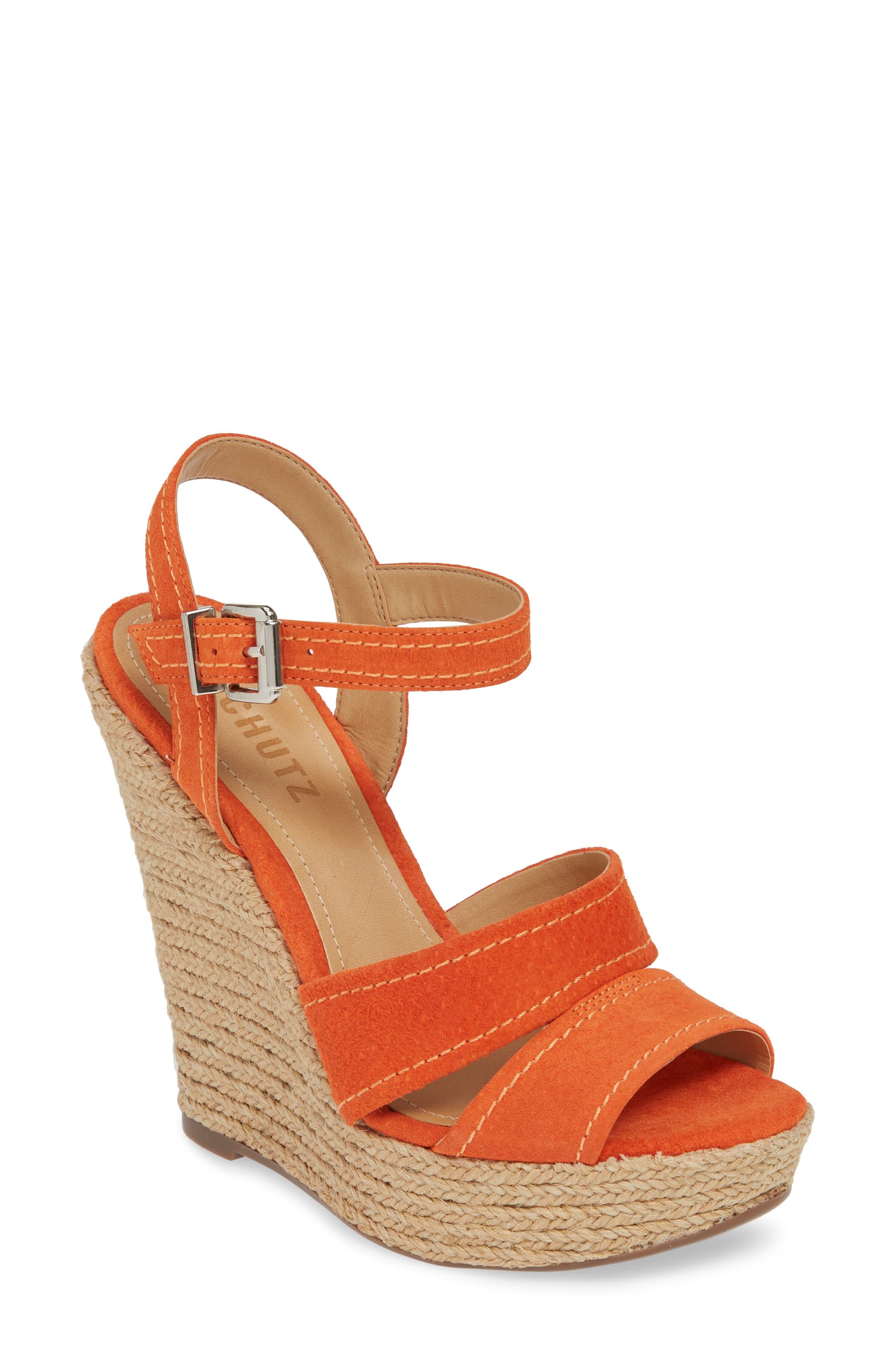 Schutz Dorida Platform Wedge Sandal