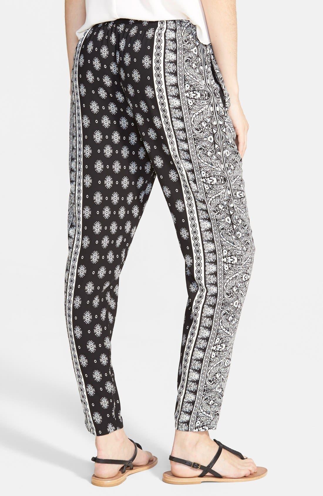 ,                             Perfect Woven Pants,                             Alternate thumbnail 5, color,                             002