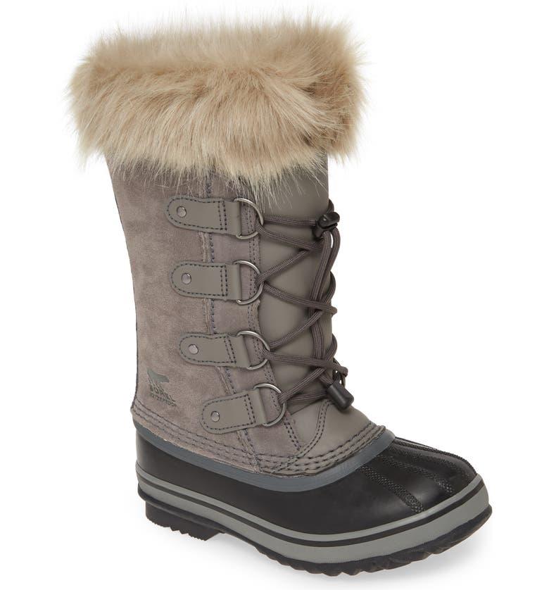 SOREL 'Joan of Arctic' Boot, Main, color, QUARRY GREY MULTI