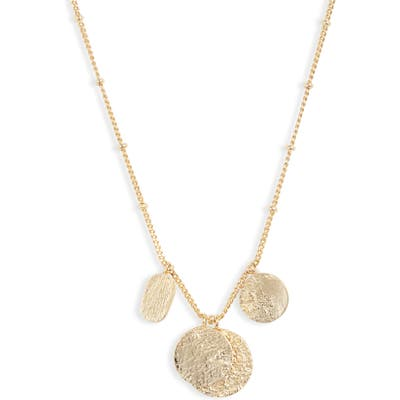 Gorjana Banks Mixed Coin Necklace