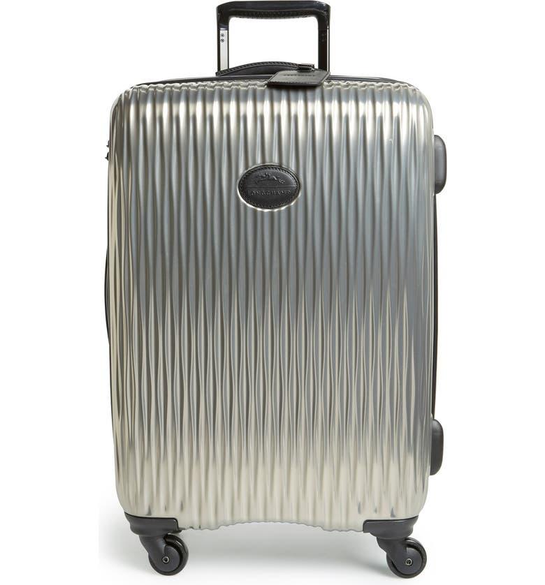 LONGCHAMP 'Medium Fairval' Four-Wheeled Hard Shell Suitcase, Main, color, 020