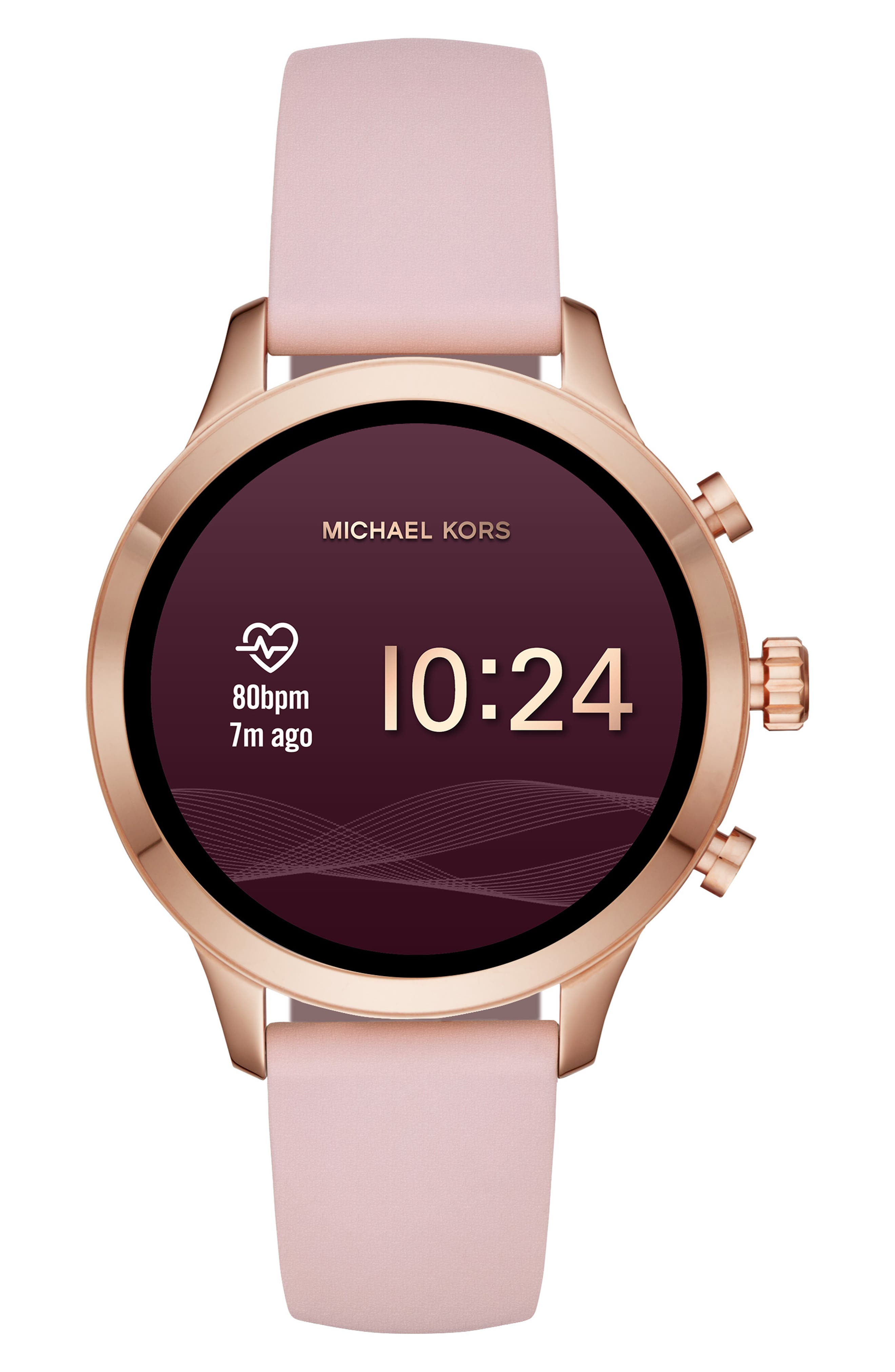 ,                             MICHAEL Michael Kors Access Runway Smart Watch, 41mm,                             Alternate thumbnail 17, color,                             650