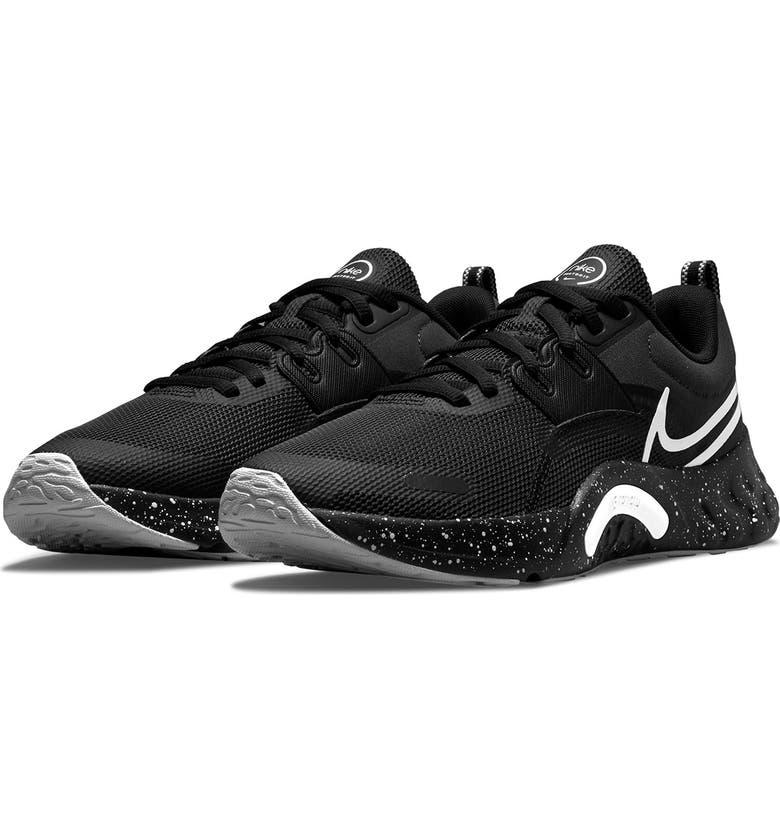 NIKE Renew Retaliation 3 Sneaker, Main, color, 001 ANTHRA/WHITE