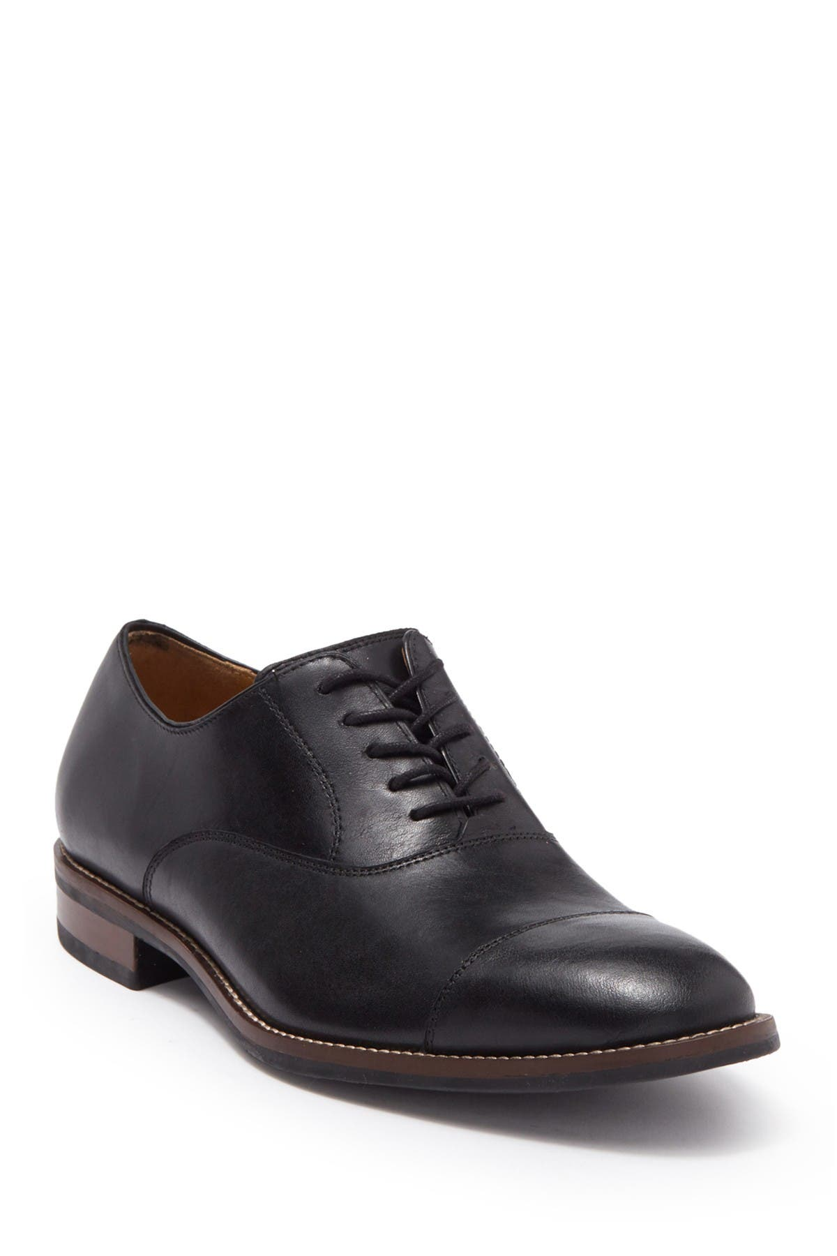 Image of Cole Haan Lenox Hill Leather Cap Toe Oxford