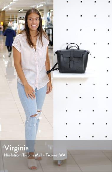 Medium Maestra Pebbled Leather Convertible Satchel, sales video thumbnail