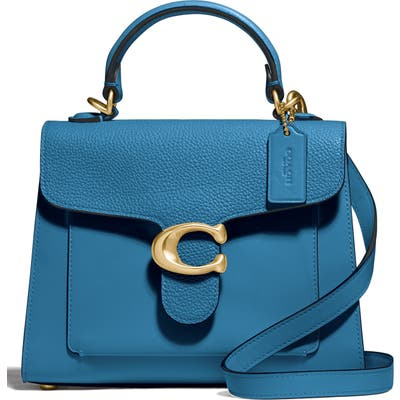 Coach Tabby Mixed Leather Top Handle Bag -