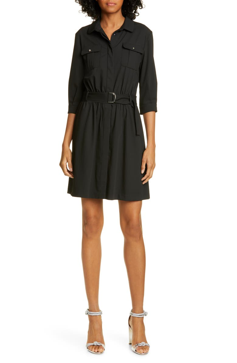 Ba Sh Victoire Belted Shirtdress