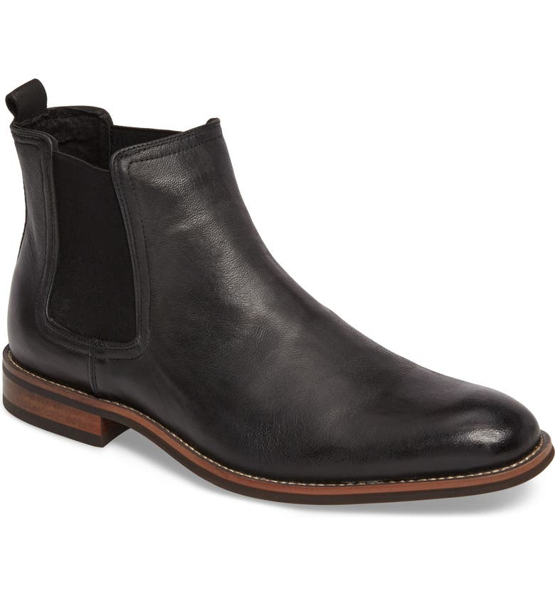 JUMP Lawson Chelsea Boot, Main, color, BLACK