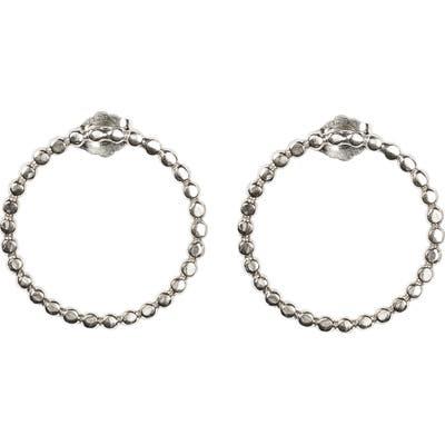 Nashelle Dot Bubble Hoop Earrings