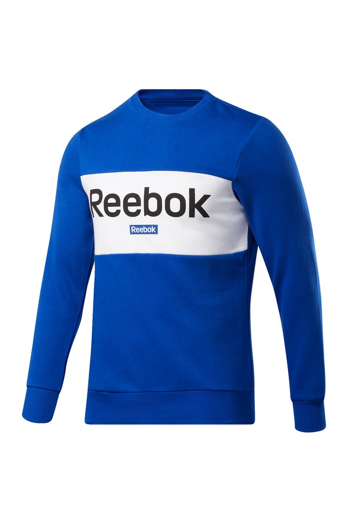 Image of Reebok Linear Logo French Terry Pullover