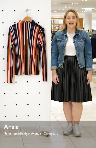 Multicolor Fine Gauge Wool Turtleneck, sales video thumbnail